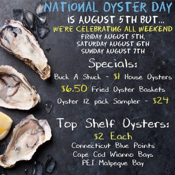 National Oyster Day Weekend at Twisted Lobster - Twisted